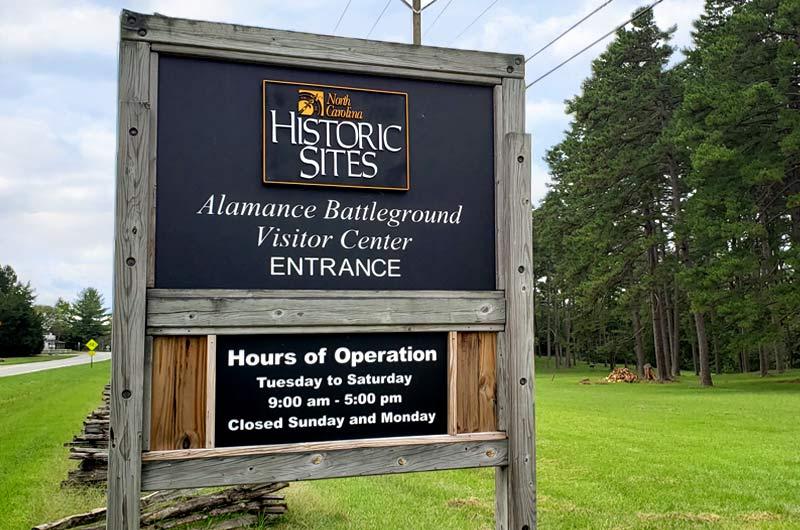 Alamance Battleground Visitor Center